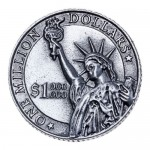 "Монета ""1 млн долларов"""