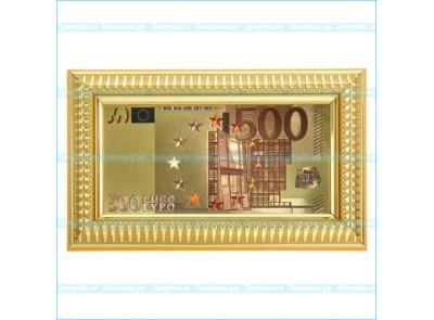 "Купюра в рамке ""500 евро"""